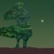 """Exploring new worlds #8 - figur från målningen """"Mor och son"""""""