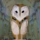 """Exploring new worlds #11 - figur från målningen """"Kan alla fåglar sjjunga?"""""""