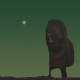 "Exploring new worlds #10 - figur från reliefen ""Dvärgen"""