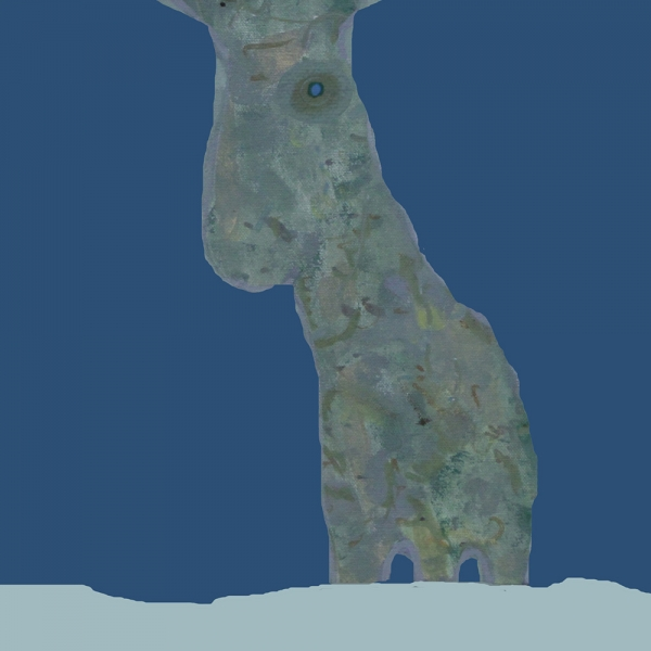"""Exploring new worlds #2 - figure from the painting """"The sad Elk"""""""