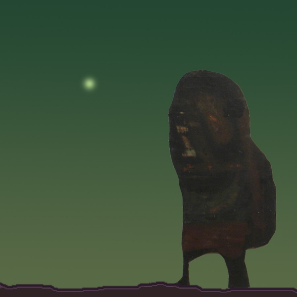 """Exploring new worlds #10 ( figure from the relief """"Wanderer"""" )"""